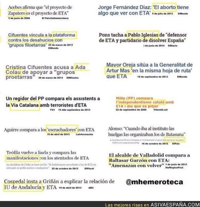 34442 - Para el Partido Popular todo es ETA. Flipante