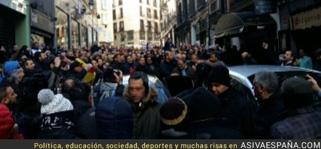 35063 - Así habla un Policía Municipal de Madrid por la manifestación contra el Gobierno de Manuela Carmena