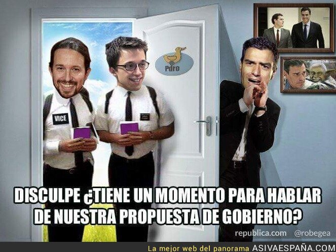35364 - Pedro Sánchez tiene miedo a Podemos