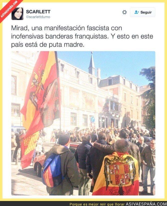 35409 - Todo perfecto en pleno centro de Madrid contra Manuela Carmena, no hay títeres