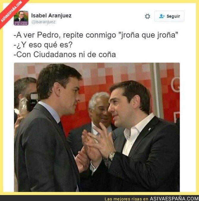 37592 - Tsipras se lo deja claro a Pedro Sánchez