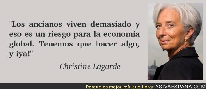 37735 - Christine Lagarde y sus luces