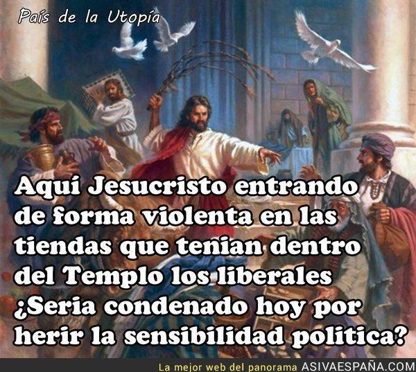 37776 - Si Jesucristo fuese de Podemos...