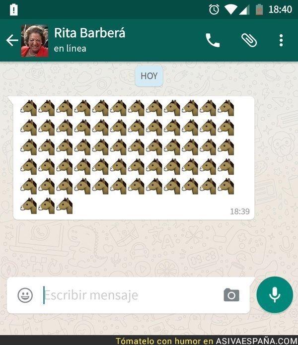 37921 - Los mensajes que manda Rita Barberá