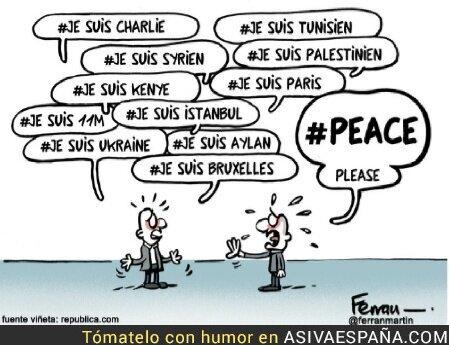 37964 - Lo único que queremos es paz.