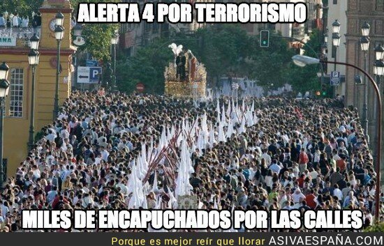 38174 - Alerta 4 por terrorismo