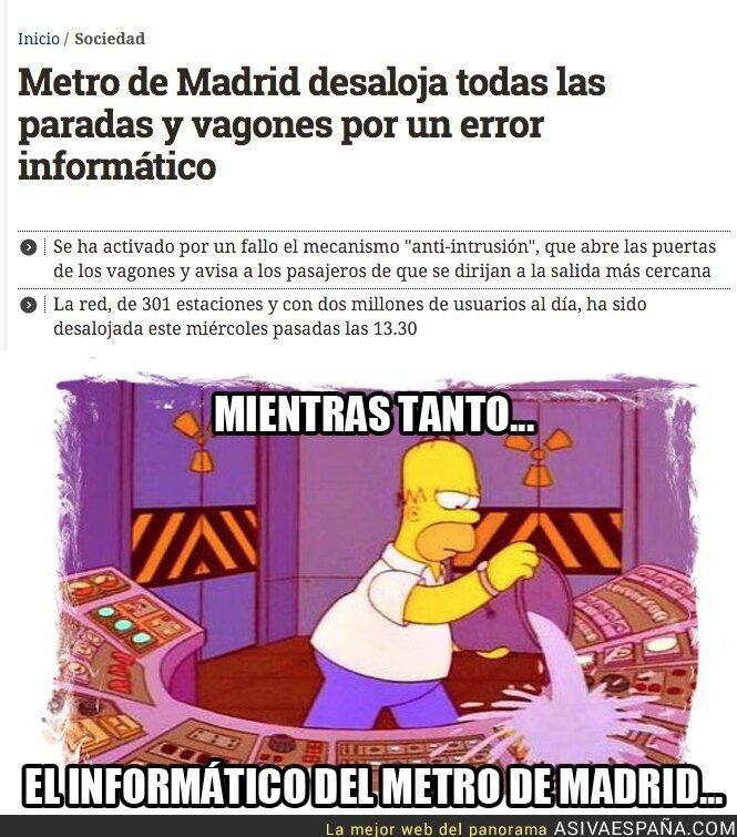 38478 - Caos en el Metro de Madrid