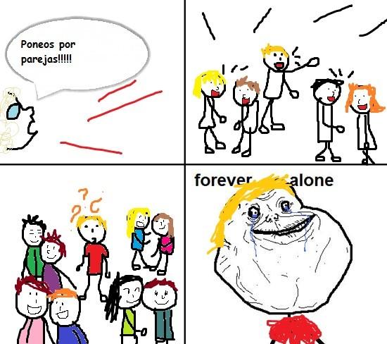 Forever_alone - Sin pareja, como siempre