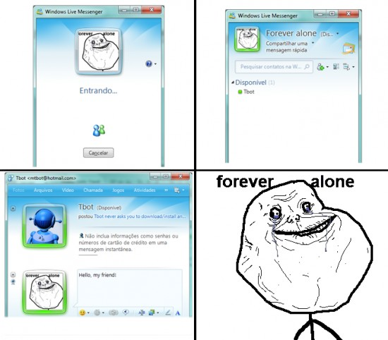 Forever_alone - Msn Alone