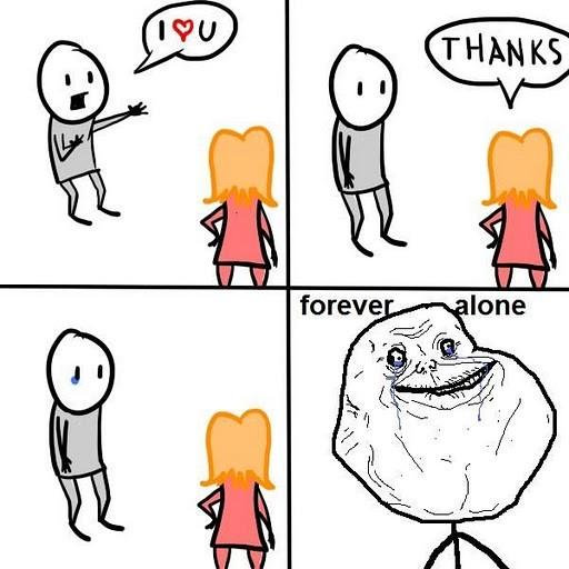 Forever_alone - Te quiero