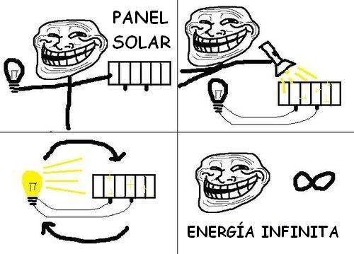 Trollface - Energía infinita