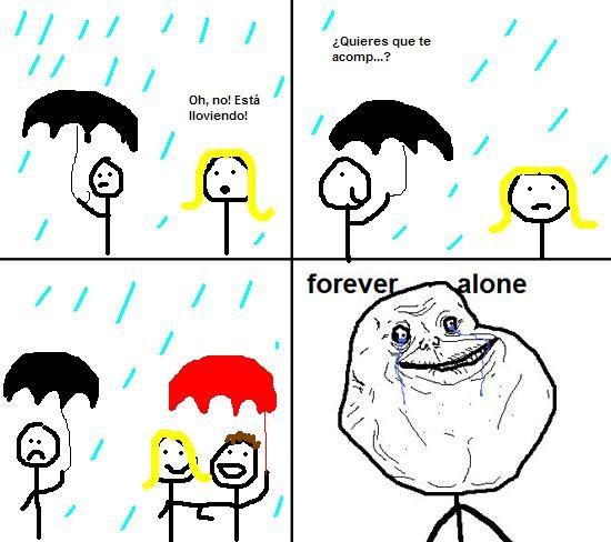 Forever_alone - Día de Lluvia