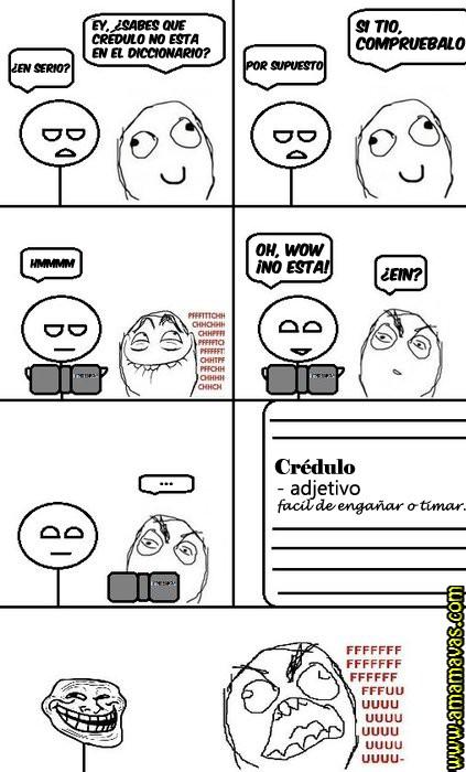 Trollface - Crédulo