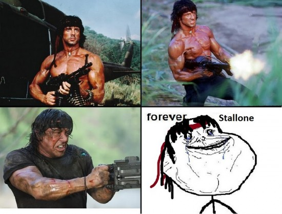 alone,forever,stallone