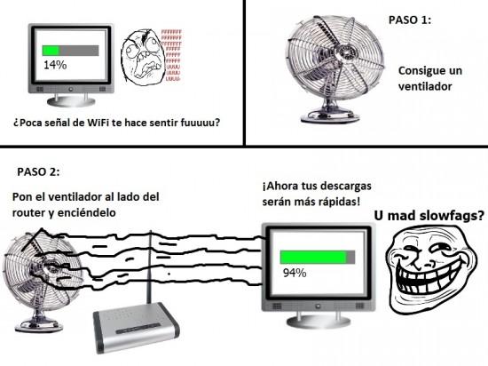 fuuuu,internet,Trollface,ventilador,wifi