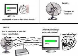 Enlace a Wi-Fi Troll