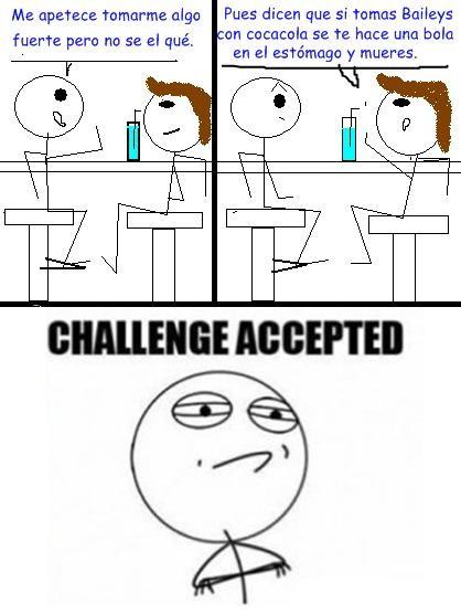 Challenge_accepted - Baileys con cocacola