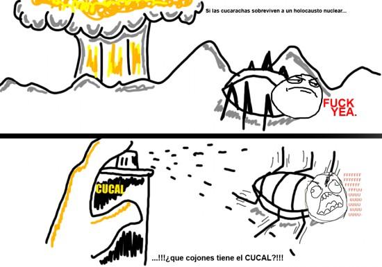 Ffffuuuuuuuuuu - Cucarachas