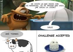 Enlace a Challenge vaca