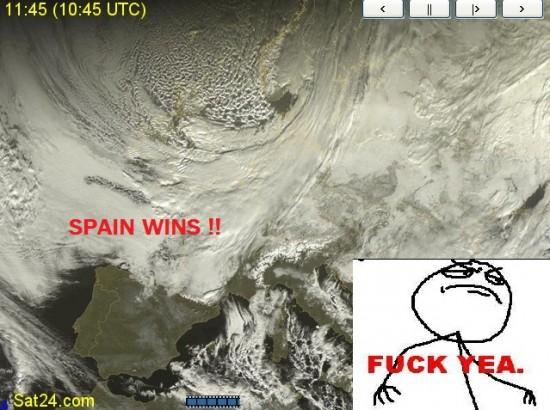 Fuck_yea - España con el calentamiento global