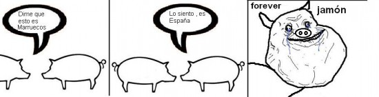 Forever_alone - Spain is diferent