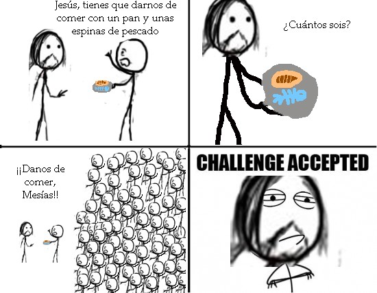 Challenge_accepted - Pan y pez