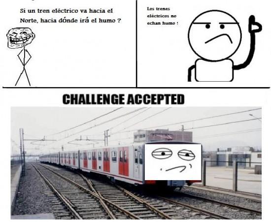 Challenge_accepted - Tren eléctrico