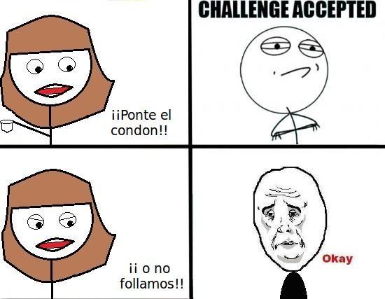 Challenge_accepted - Malditas condiciones