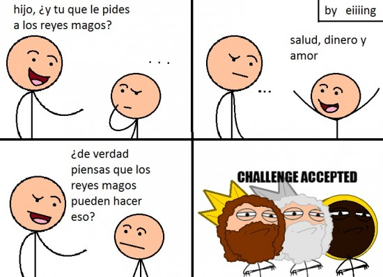Challenge_accepted - No los subestimes, no son papa noel
