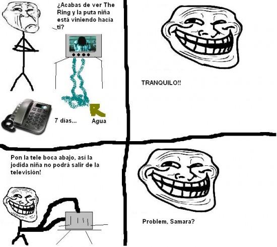 Trollface - ¿Algún problema, pelis diabólicas?