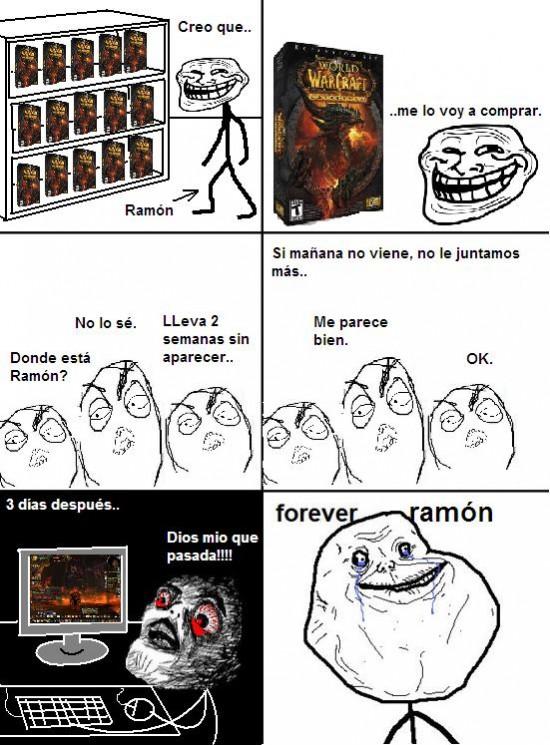 Forever_alone - Forever Ramón