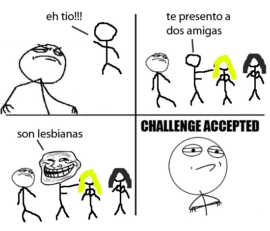 Challenge_accepted - Dos amigas