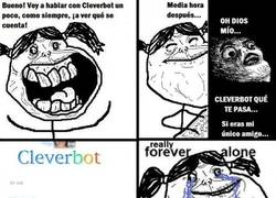 Enlace a Cleverbot te odia