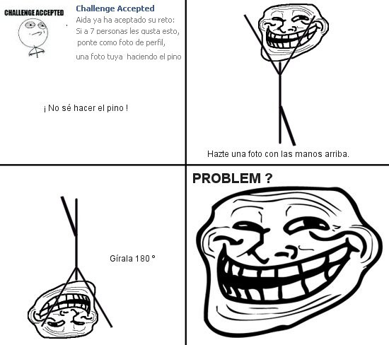 Trollface - Challenge Accepted