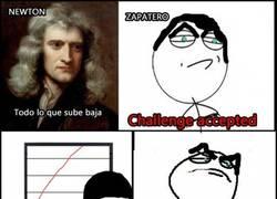 Enlace a Contradiciendo a Newton