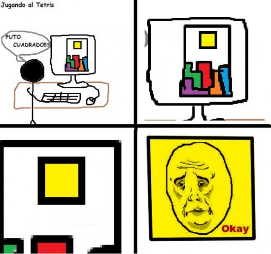 Okay - El cuadrado marginado
