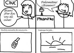 Enlace a Palomitas en el cine
