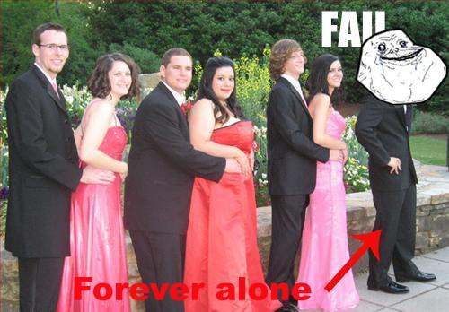 Forever_alone - El soltero de las bodas