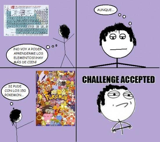 Challenge_accepted - Elementos no, pokemon sí