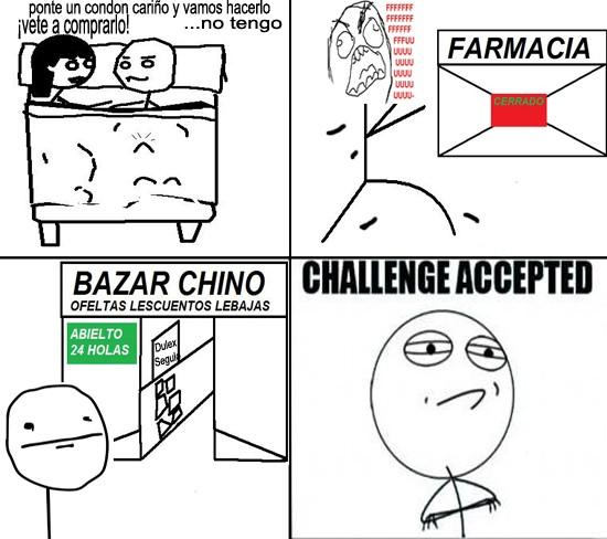 Challenge_accepted - Condones de los Chinos