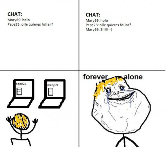 Forever_alone - Desesperado