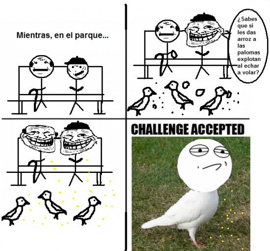 Challenge_accepted - Palomas