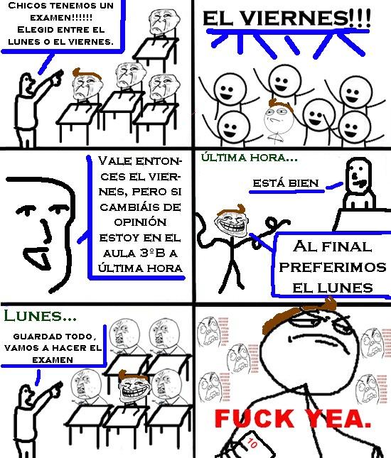 Fuck_yea - Fastidiando examenes