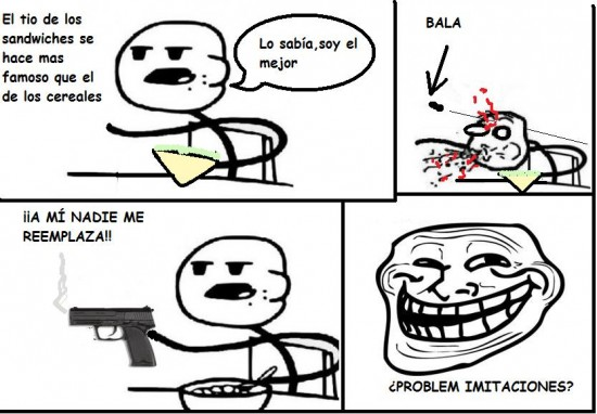 Cereal_guy - Sandwiches vs cereales