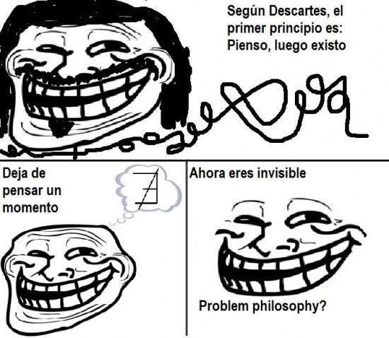 Trollface - Troll Descartes