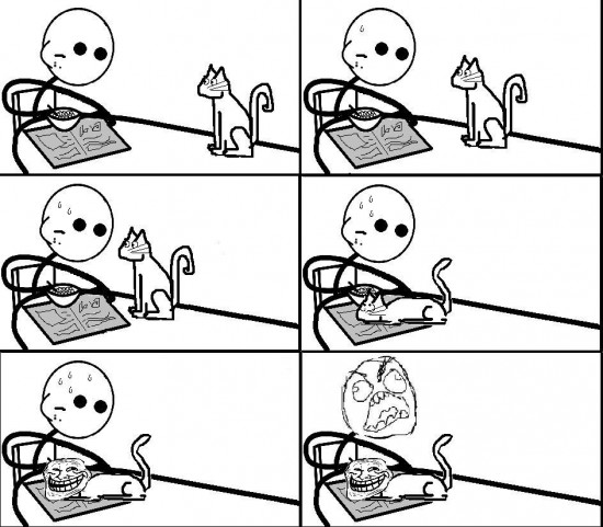 Ffffuuuuuuuuuu - Gatos, siempre saben cómo joder