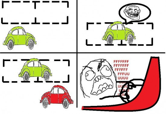 Ffffuuuuuuuuuu - Malditos jode-aparcamientos