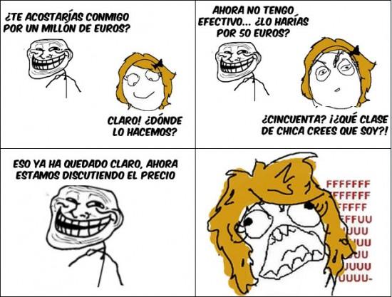 chica,ffuuuu,troll face