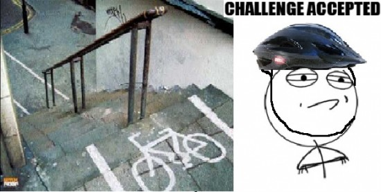Challenge_accepted - Carril bici