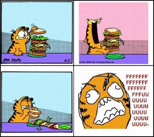 Ffffuuuuuuuuuu - Garfield FFFFUUU